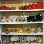 A great collection of original Francoma pottery made in Oklahoma.