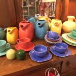 A beautiful selection of Fiesta pottery