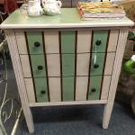 Pretty hand painted chest of drawers
